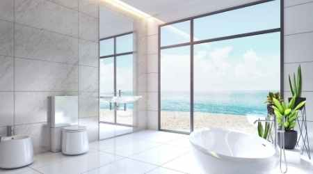 How can I make my bathroom look expensive